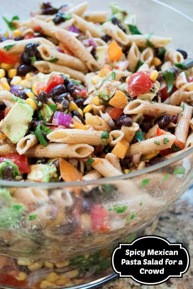 spicy-mexican-pasta-salad-for-a-crowd